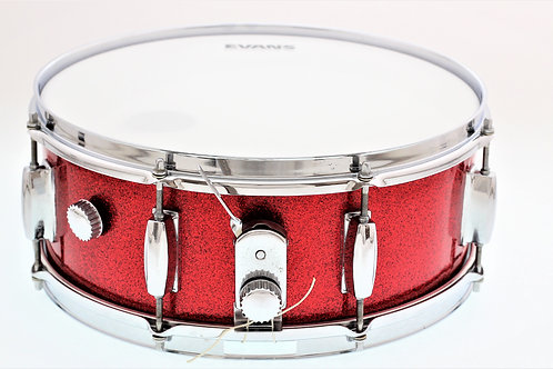 "MIJ 1960's Red Sparkle 14""x5.5"" Snare Drum"