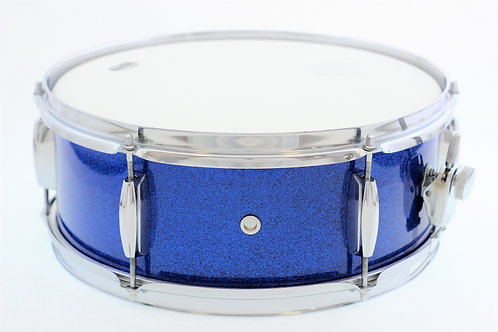 Vintage Blue Sparkle MIJ Snare Drum