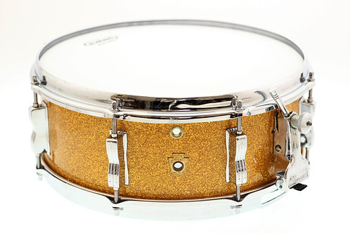 "Buddy Rich Super Classic Gold Sparkle 14"" x 5.5"" Snare Drum"