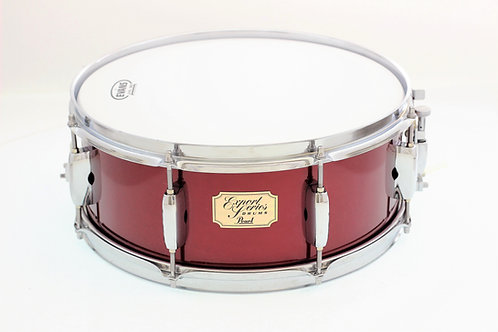 """Pearl Export Series 14"""" x 5.5"""" Red Wine Snare Drum"""