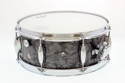 Vintage 1960's Black Marine Pearl MIJ Snare Drum