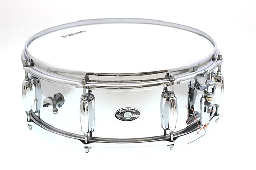 "Vintage 1970's Slingerland Chrome 14"" x 5"" Snare Drum"
