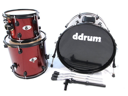"Ddrum ""d"" Series 3 Piece Drum Set (Shell Pack)"