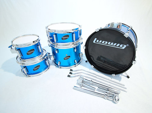 Ludwig 5 Piece Accent Junior Drum Set (Shell Pack)