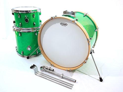 """Triple"" Hybrid 3 Piece Drum Set (Shell Pack)"