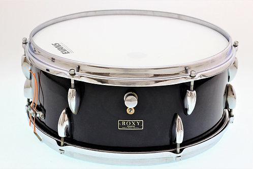 "Roxy/Tromsa Vintage 1960's 14""x5"" Black Snare Drum"