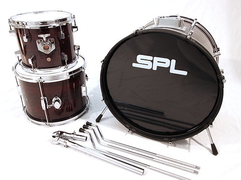 Custom/Hybrid 3 Piece Be-Bop Drum Set (Shell Pack)