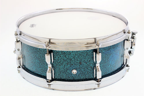 Vintage 1960's Turquoise MIJ Snare Drum