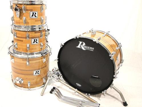 """Vintage Rogers 1978 """"Big R"""" Drum Set"""