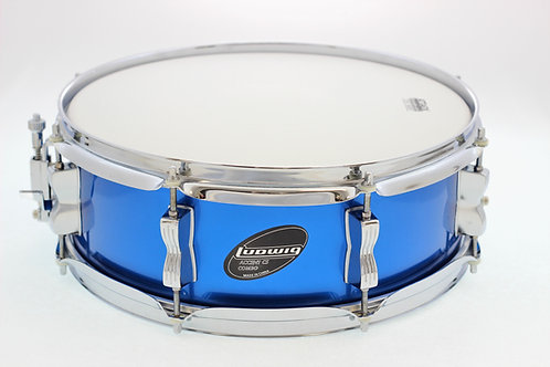 """Ludwig Accent CS Combo Blue 14"""" x 5"""" Snare Drum"""