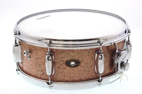 Slingerland 1960's Pink Sparkle ARTIST Model Snare Drum w/Bag