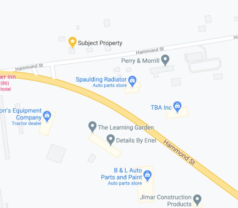 1425 Hammond St Map