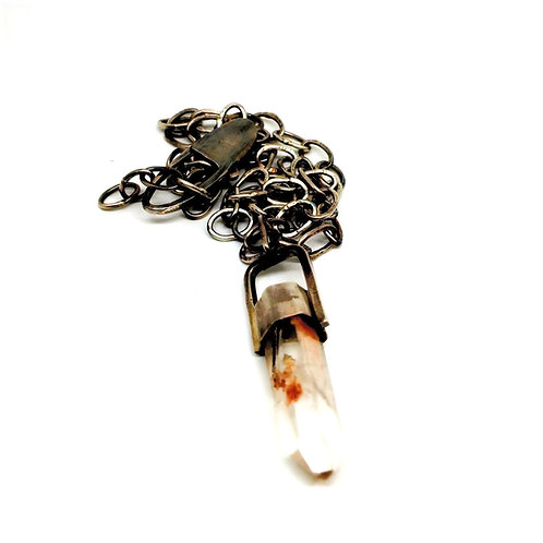 Angel Phantom Quartz Necklace