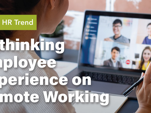 2021 HR Trend: Rethinking Employee Experience on Remote Working