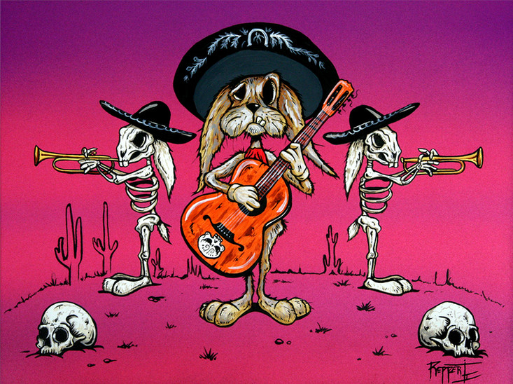 Day of the Mariachi Rabbits