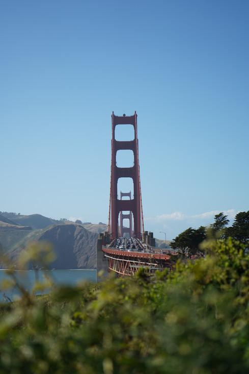 Golden Gate Bridge, SF.