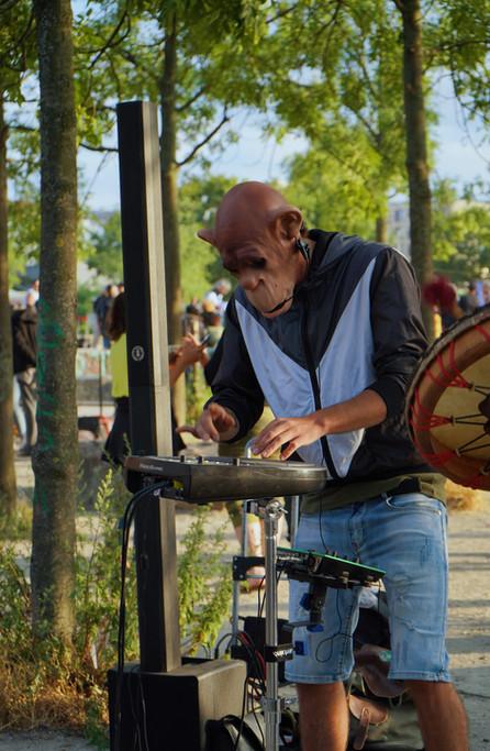 DJ in Berlin, Germany.
