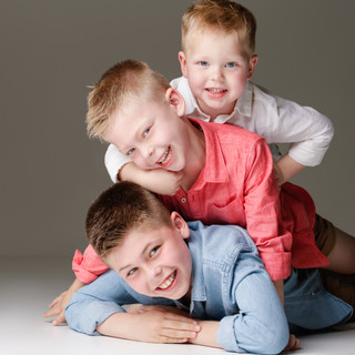 Cheerful kids photo