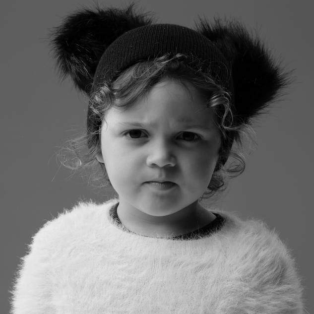 Small baby girl image