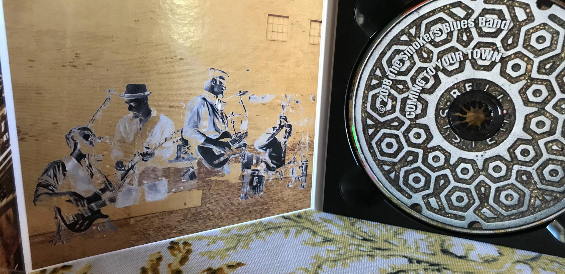 Smokers Blues Band Interior & CD