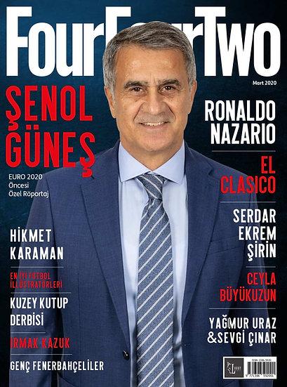 FourFourTwo Türkiye Mart 2020 Sayısı