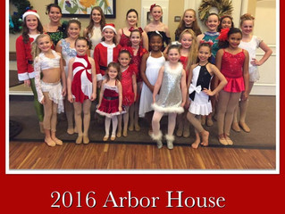 Private Lesson Students at the Assisted Living Christmas Shows