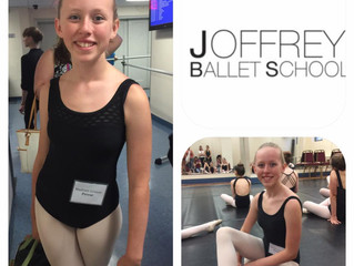 Maddy at Joffrey Ballet Summer Intensive