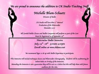 Michelle Blum-Schuetz- Director of Ballet