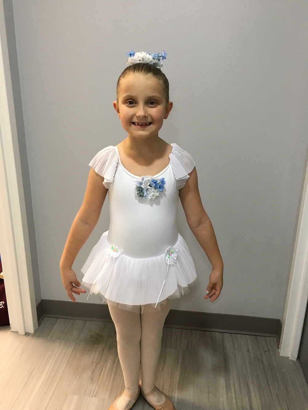 Audrey as a Snow Angel