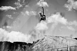 Frontflip Freeride Mtb Mountainbike Slopestyle Åre Bike Festival