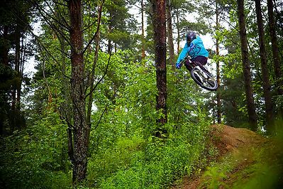 Freeride Mtb Mountainbike Slopestyle Nature