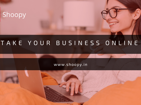Now Make Your Business Online Within Minutes - Shoopy