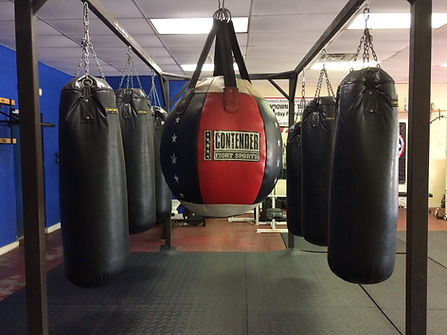 Contender Fight Sports punching bags