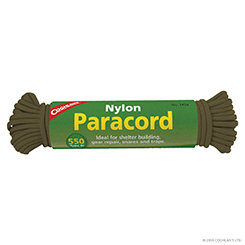 Coghlan's Paracord 50' - Olive Drab (Case 4)