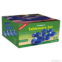 Coghlan's 4 Person Campers Tableware Set (Case 4)