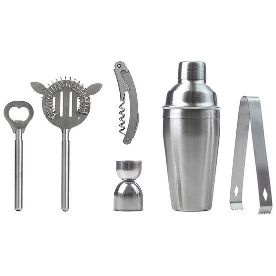 Wyndham House™ 7pc Stainless Steel Bar Set (Case 6)