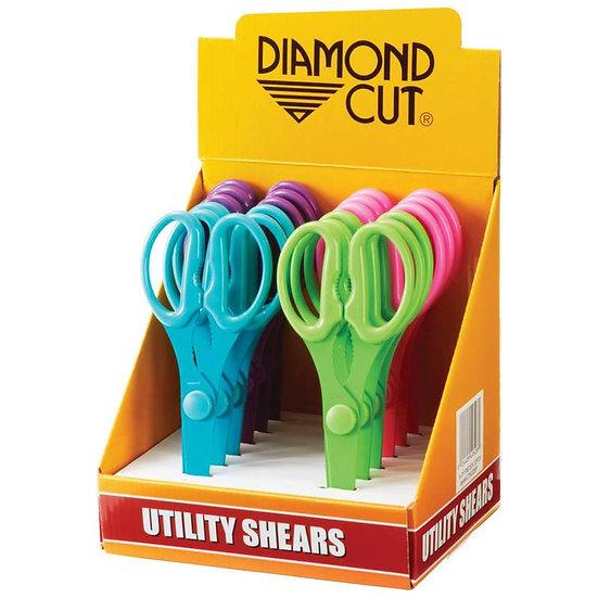 Diamond Cut™ 12pc Utility Shears in Countertop Display