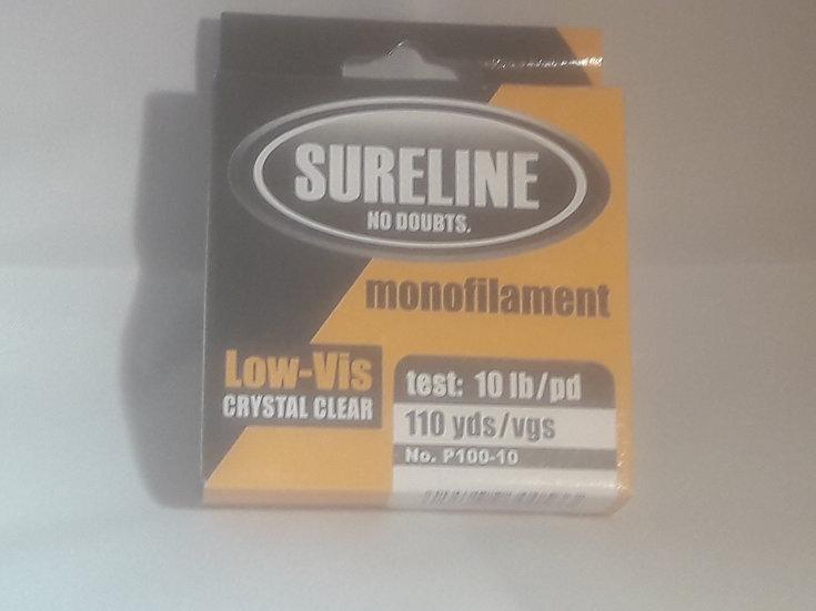 Sureline Monofilament 10LB (110yds) Fishing Line (Case 12)