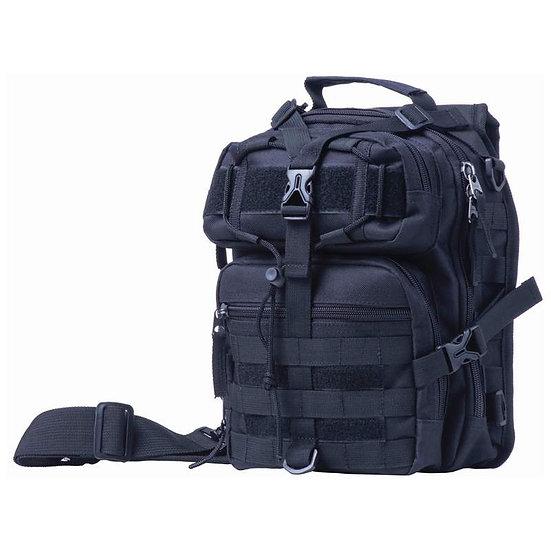 """Extreme Pak™ 11"""" Black Sling Backpack (Case 6)"""