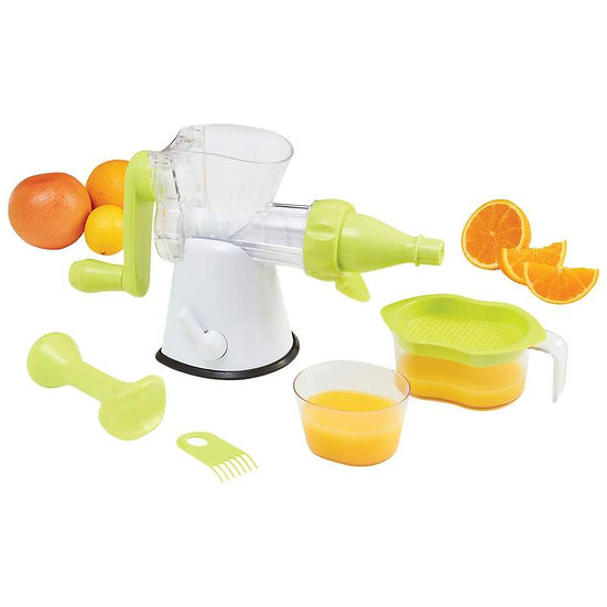 LaCuisine™ Hand Crank Single Auger Juicer (Case 6)
