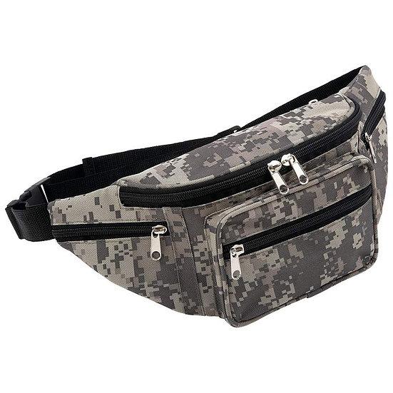 Extreme Pak™ Digital Camo Water-Repellent Waist Bag (Case 6)