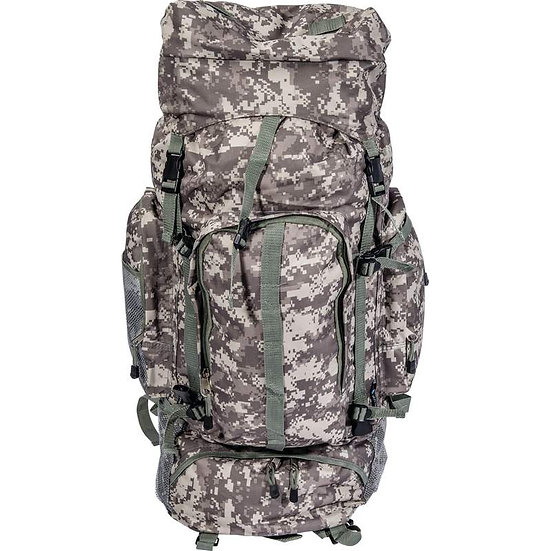 Extreme Pak™ Digital Camo Water-Resistant, HD Mountaineer's Backpack (Case 6)