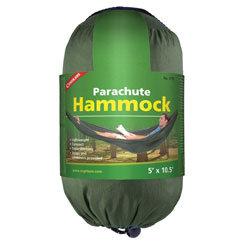 Coghlan's Single Parachute Hammock – Green (Case 4)