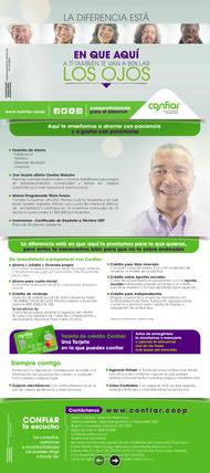 Plegable ahorro y crédito