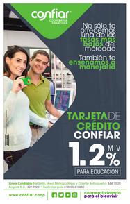 Tarjeta crédito (tasa educación)