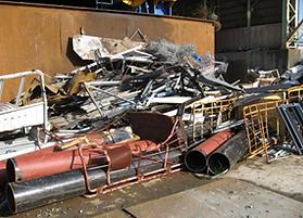 パイプ形鋼 解体物件ギロ前材