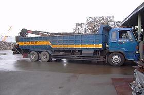 ヒアブ10t積込み用トラック