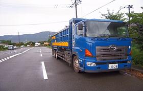 15tダンプトラック