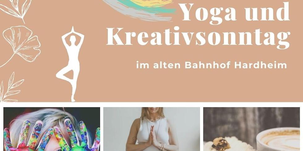 Yoga und Kreativsonntag