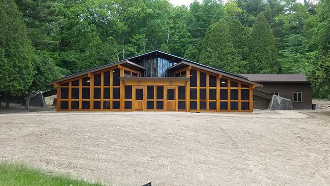 Camp Tamarack - Staff Lounge